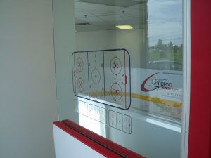 Topo de Hockey autocollant LS-146-1