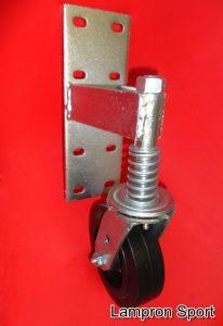 Roulette pour porte de surfaceuse LS-108