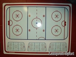 Tableau de topo de hockey LS-146