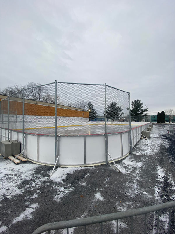 Bandes de hockey série 3A